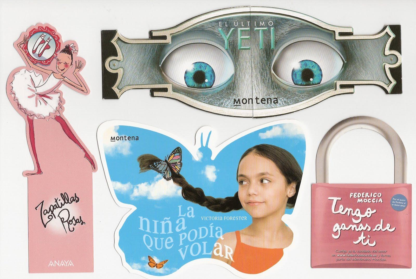 marca libros personalizados con varias formas
