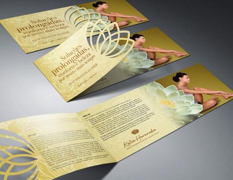flyers troquelados a full color