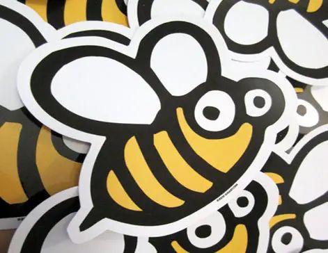 troquel en forma de abeja